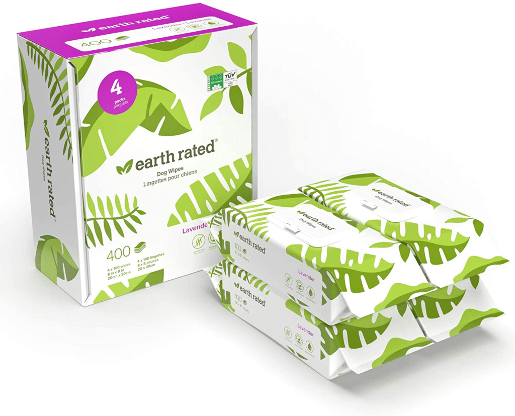 Earth Rated Dog Plant-based Compostable Wipes