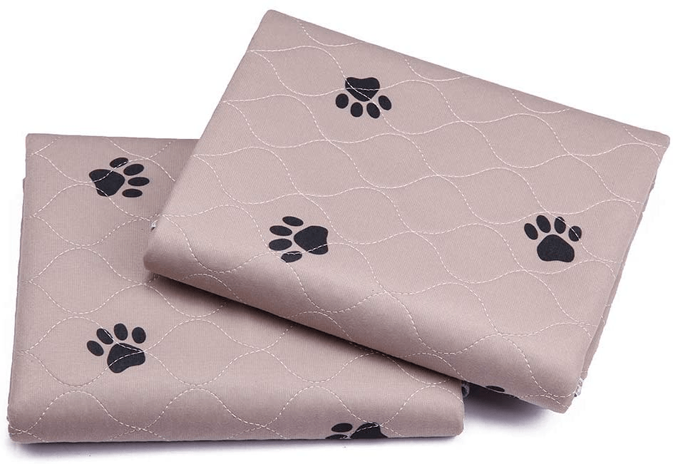 SincoPet Reusable Pee Pad (4 Packs) + Free Grooming Gloves