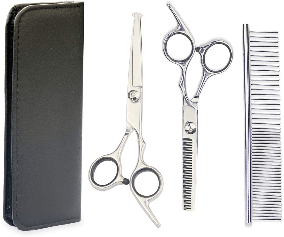 Professional Pet Grooming Scissors toolset