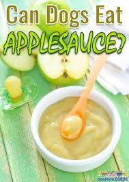 Can dogs eat applesauce?